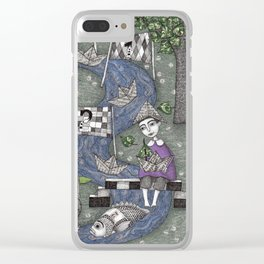 The Boat Race Clear iPhone Case