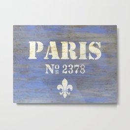 Paris 2378 Metal Print