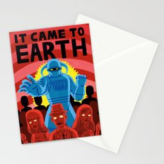 IT CAME TO EARTH Stationery Cards