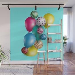 Balloons Wall Mural