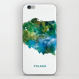 Poland iPhone Skin