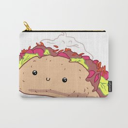 Happy Taco Carry-All Pouch