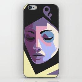 Girl in hijab iPhone Skin