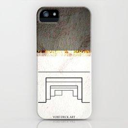 VOID DECK PILLARS iPhone Case
