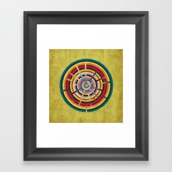 Lost in color Framed Art Print