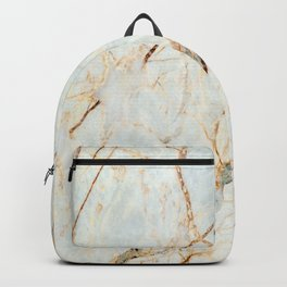 Marble 3 (White Gold) Backpack