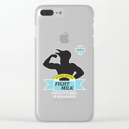 Fight Milk Clear iPhone Case