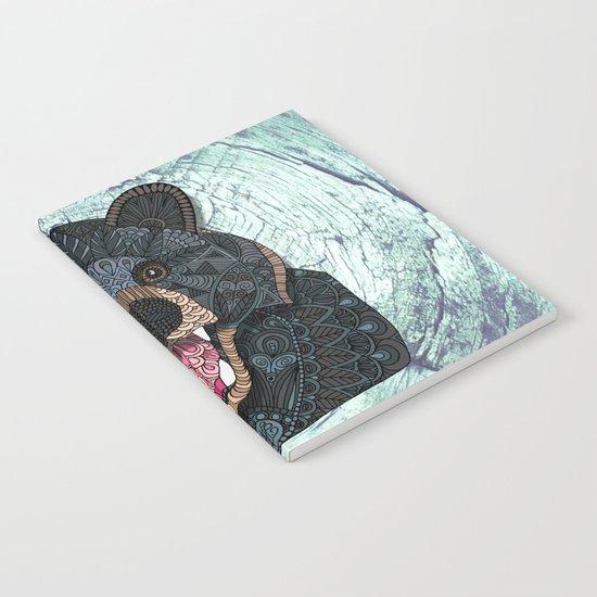 Ornate Black Bear Notebook