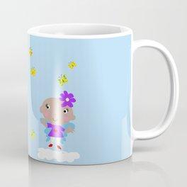 Ananda The Fairy Baby - Butterflies Coffee Mug