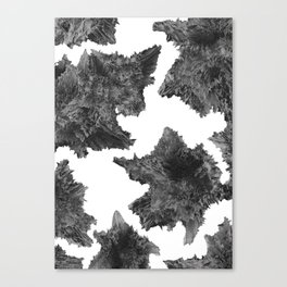 Asteroids are talking Canvas Print
