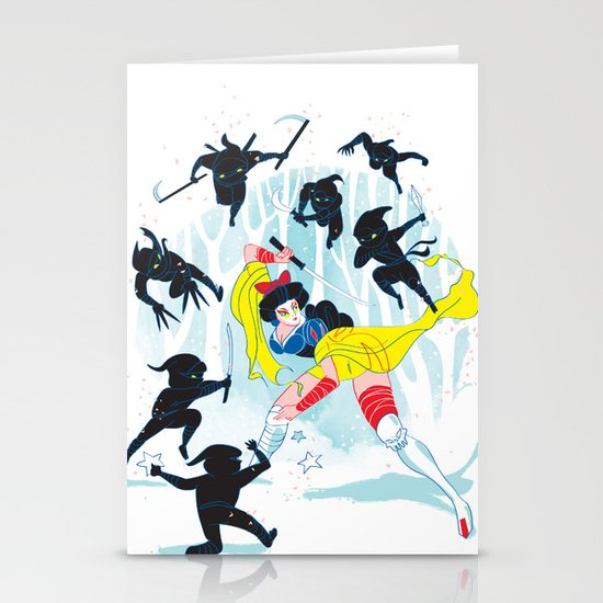 Tales of a Snow Geisha Stationery Cards