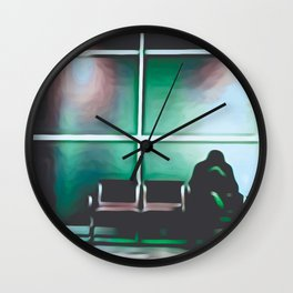 Poison Control Wall Clock