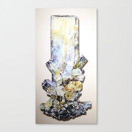 Aquamarine Schorl Canvas Print