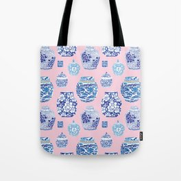 Chinoiserie Ginger Jar Collection No.7 Tote Bag