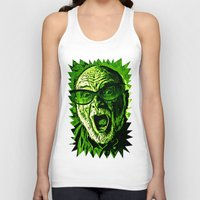 scream Tank Tops featuring SCREAM! by Silvio Ledbetter