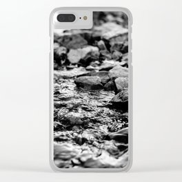 Serenity in the Valley Clear iPhone Case