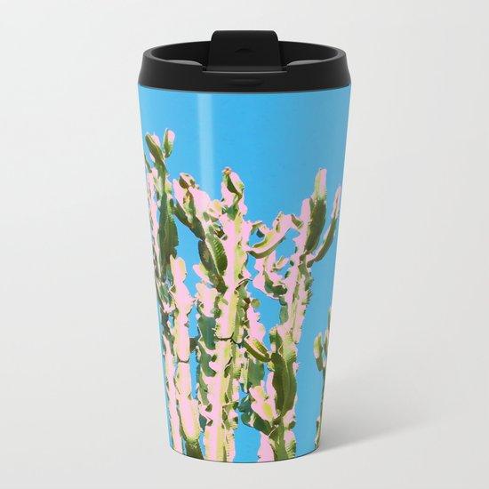 Cactus Beauty #cactus #society6 #decor #buyart Metal Travel Mug