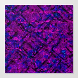 Vitrage (Purple) Canvas Print