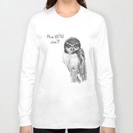 The Spectacled Owl Long Sleeve T-shirt