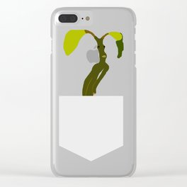 Bowtruckle Clear iPhone Case