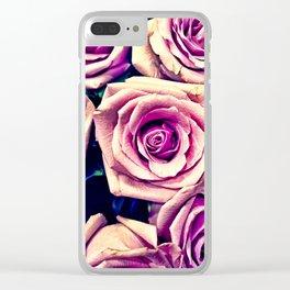Purple feeling Clear iPhone Case