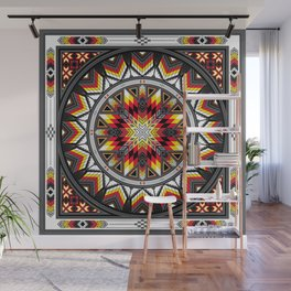 Sacred Places Red Wall Mural