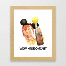 WDW Kingdomcast Huffer Framed Art Print