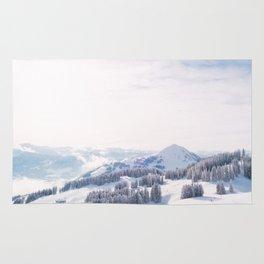 Winter Landscape (Color) Rug