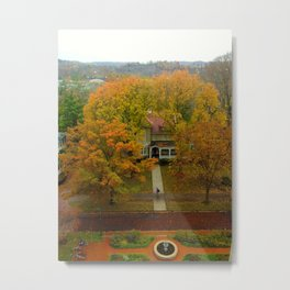 Rainy Day at Ohio University Metal Print