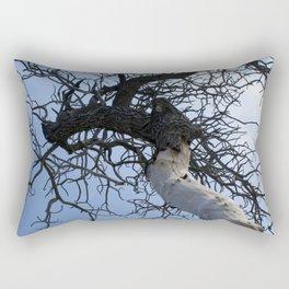 Tree by the Ocean Rectangular Pillow