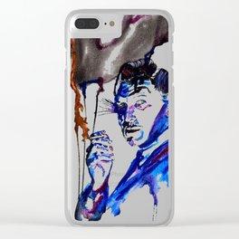 Vincent-Legends Clear iPhone Case
