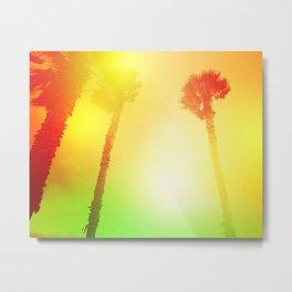 Palms Metal Print