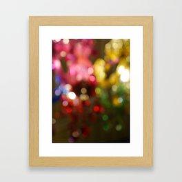Light Bokeh Framed Art Print