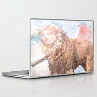 sphynx Laptop & iPad Skins featuring sphynx by Joe Ganech