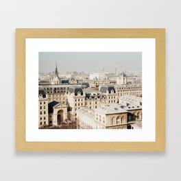 Zoomed In - film Framed Art Print
