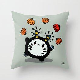 Halloween series - juggle juggle juggle.... Throw Pillow
