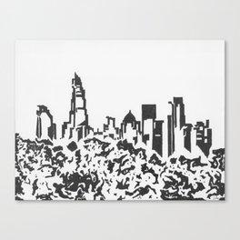 Banktown Canvas Print