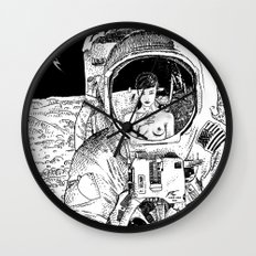 asc 333 - La rencontre rapprochée ( The close encounter) Wall Clock