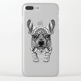 Dog Vector Clear iPhone Case