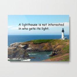 Lighthouse #2 Metal Print