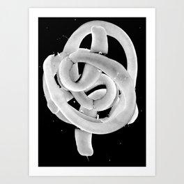 Tragics 02 - Tapeworm(s) Art Print