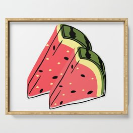 juicy watermelon slices Serving Tray