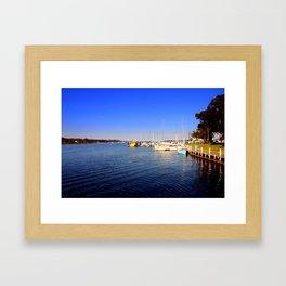 Thompson River - Paynesville - Australia Framed Art Print