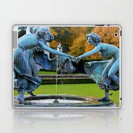 Dancing Nymphs - Den Brandt Castle - Antwerp Laptop & iPad Skin