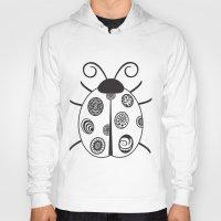 ladybug Hoodies featuring Ladybug by Amy Caldwell