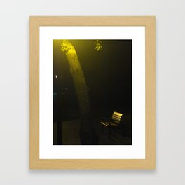 The Conversation Of One Alone Framed Art Print