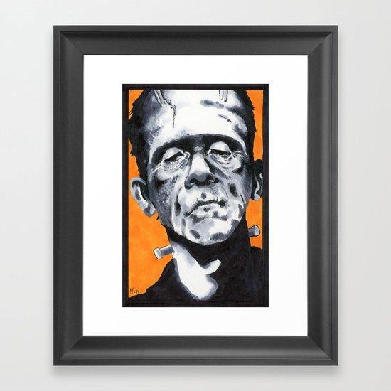 Our Frank Framed Art Print