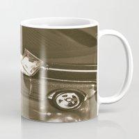 mustang Mugs featuring Mustang  by Losal Jsk