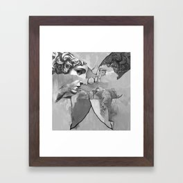 Ghost in the Stone #1 Framed Art Print