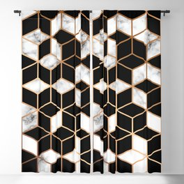 Marble & Geometry 005 Blackout Curtain